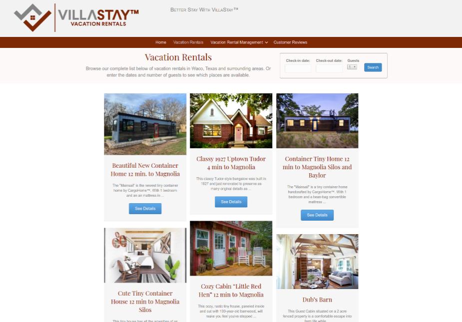 VillaStay Listings